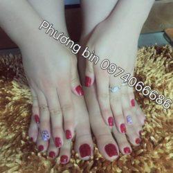 Phương Bin hair and nail
